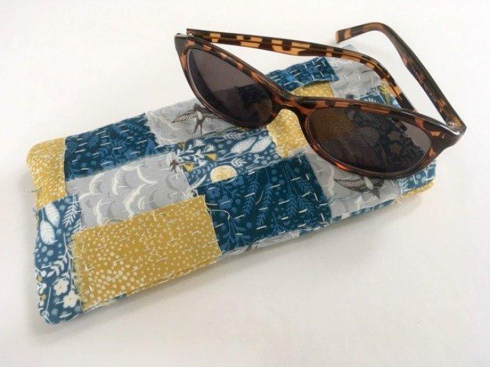 Boro style sunglasses case project