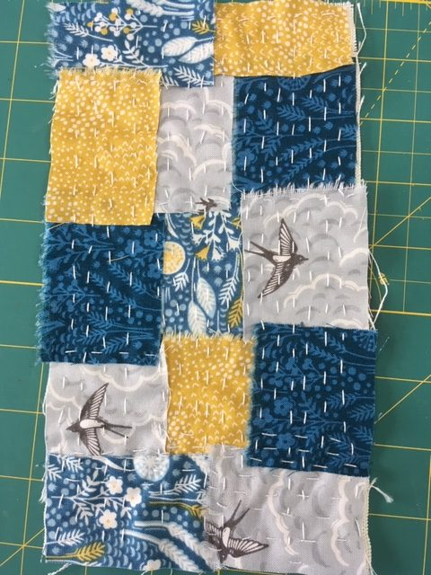 How to create a Japanese Boro inspired piece of cloth