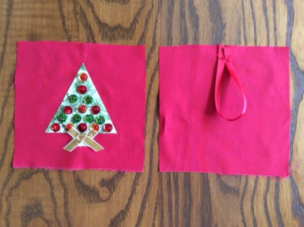 Easy decorations to sew for Christmas