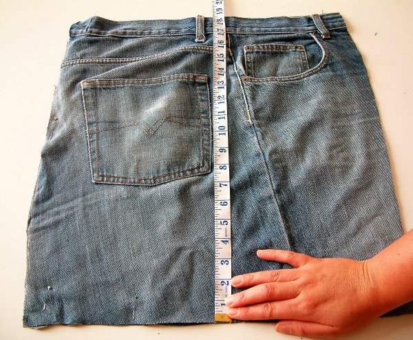 Jeans refashioning idea