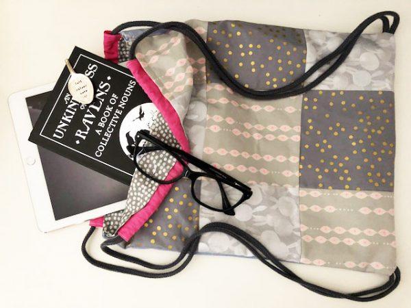 How to make a drawstring bag UK
