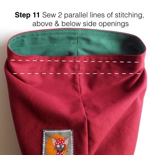 Step by step making bags