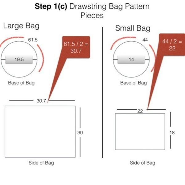 Reversible bag project