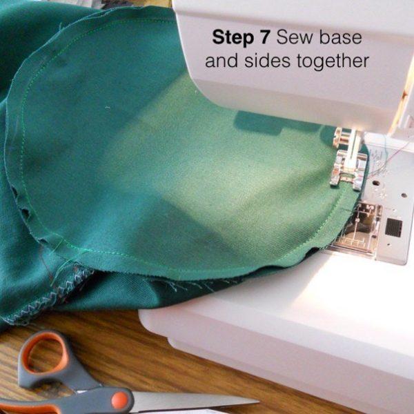 Stitch a simple bag