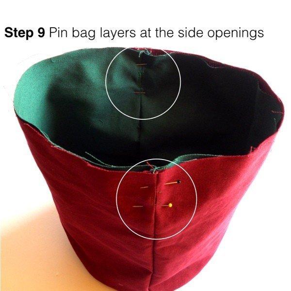 Drawstring bag techniques