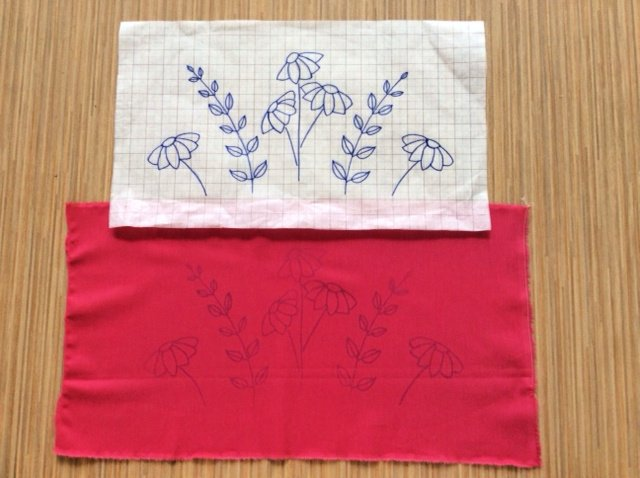 How to trace an embroidery design