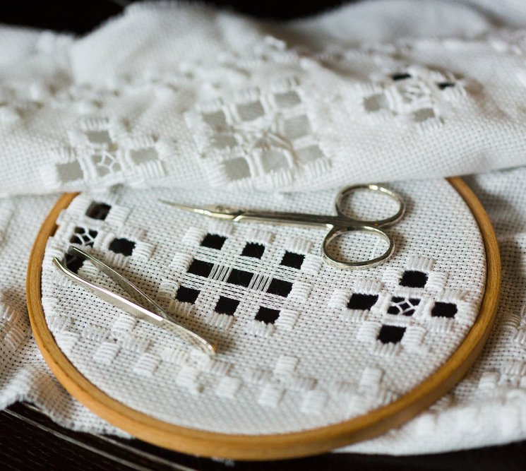 Hand embroidery - hardanger