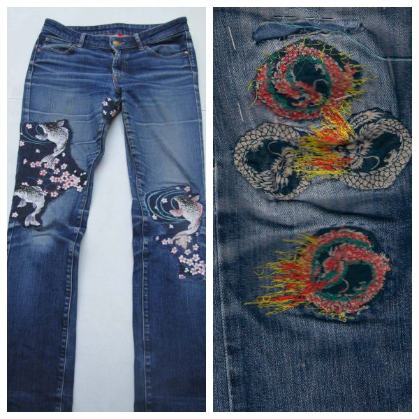 Ways to upcycle old jeans