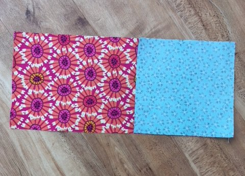 Easy patchwork bag to sew
