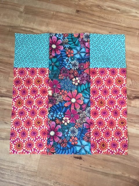 How to sew a patchwork tote