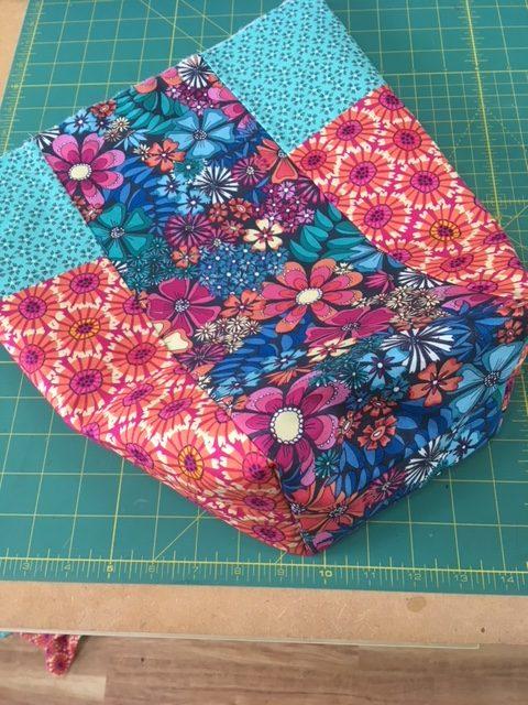 Free patchwork bag pattern