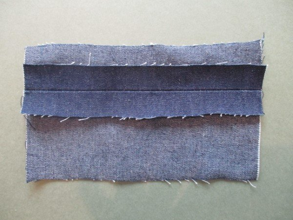 Sewing with denim