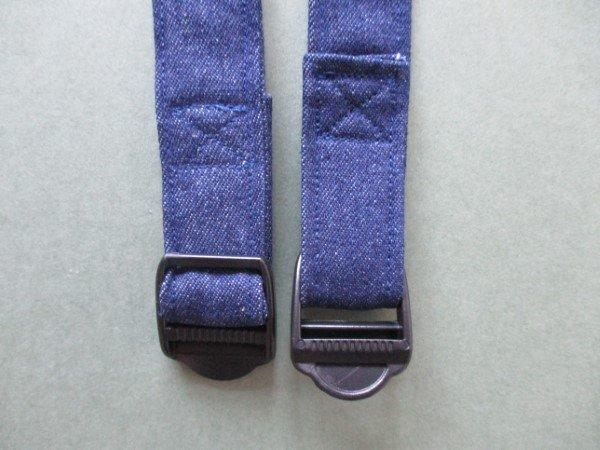 Adding adjustable straps for a backpack