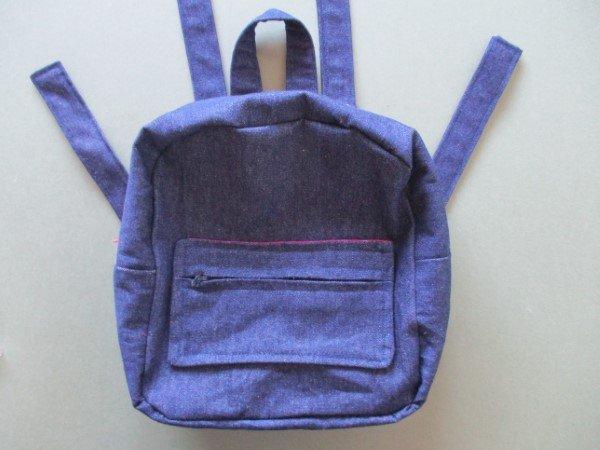 School bag sewing tutorial