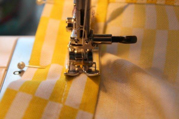 How to stitch a hem