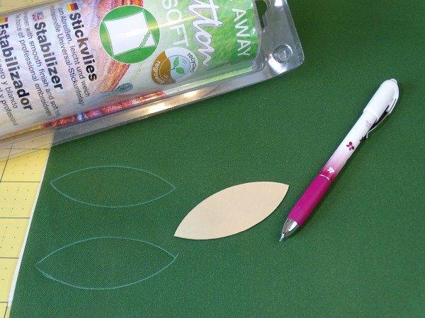 Applique family tree sewing idea