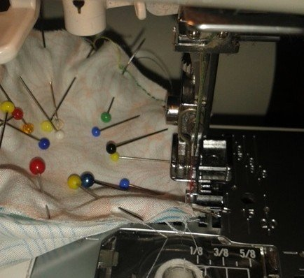 Sewing with circles