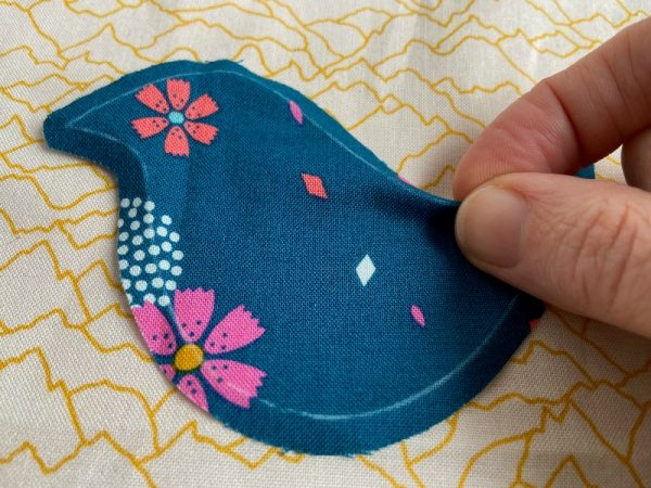 Needle turn applique step by step tutorial