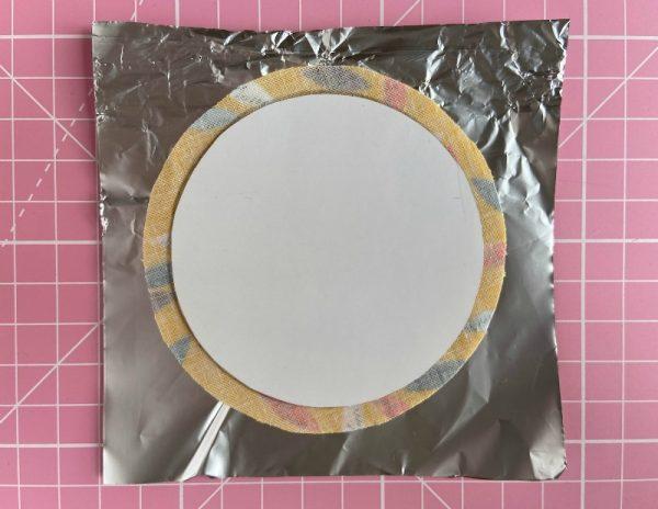 How to applique circles