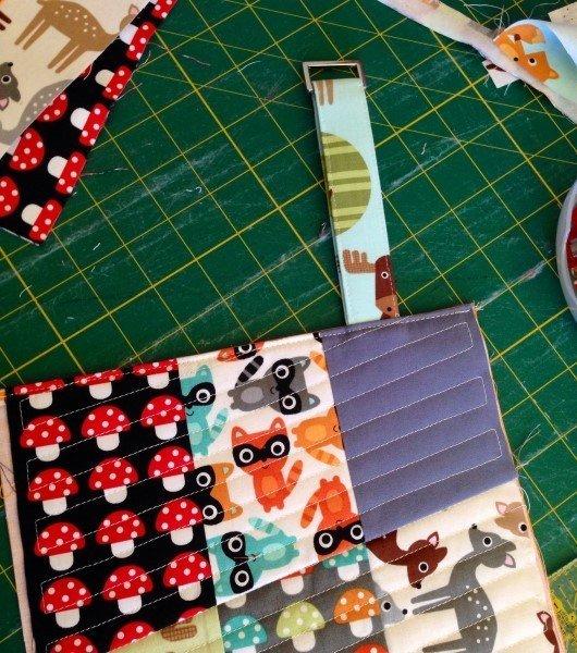 Make a mini messenger bag