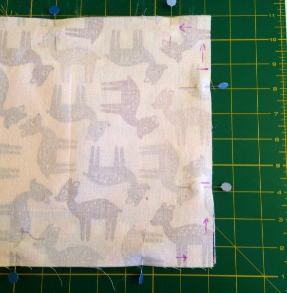 Sew a lined bag