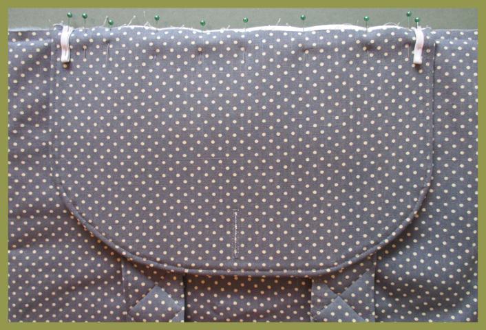 Adding a bag flap