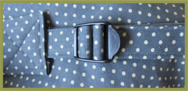 Attaching bag buckles