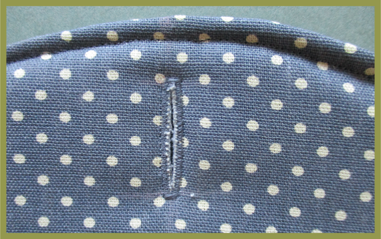 Sewing a buttonhole
