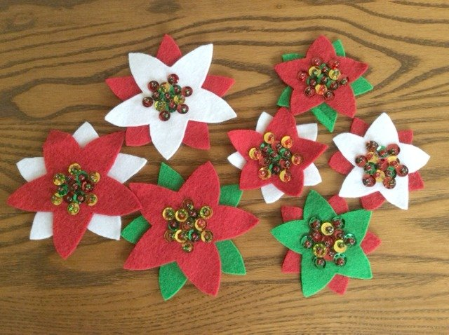 Felt Christmas sewing