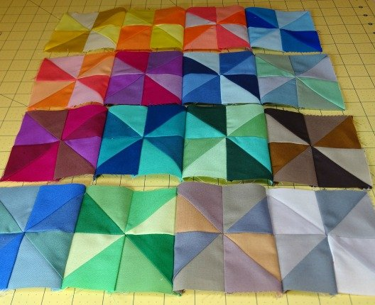 Mini quilts you can make with charm squares