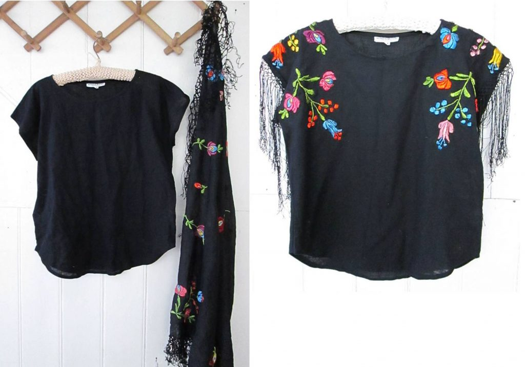 How to upcycle a top