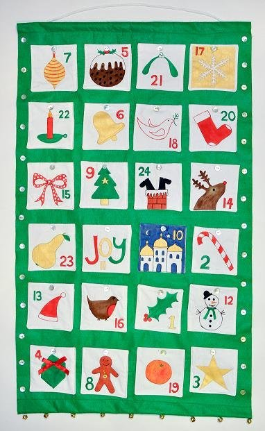 Advent calendar sewing project