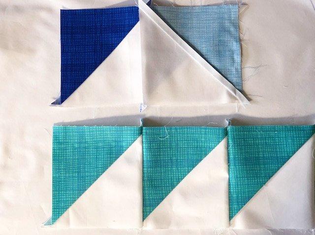Patchwork tips - pressing seams