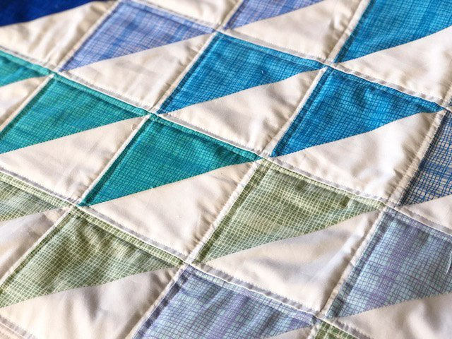 How to quilt a mini quilt