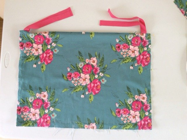 DIY outdoor cushion covers