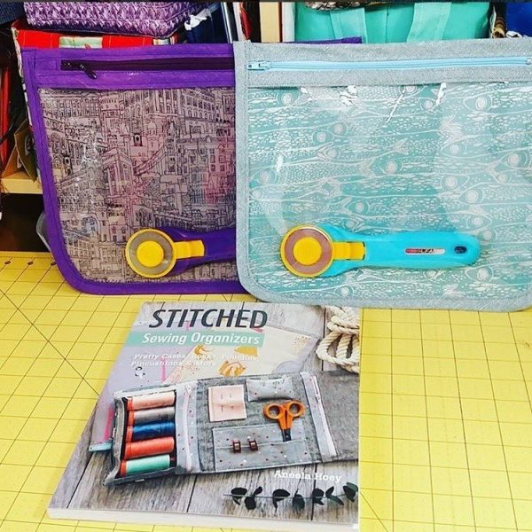 Book review - Stitched Sewing Organizers
