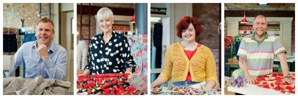 Contestants from Series 3 of The Great British Sewing Bee