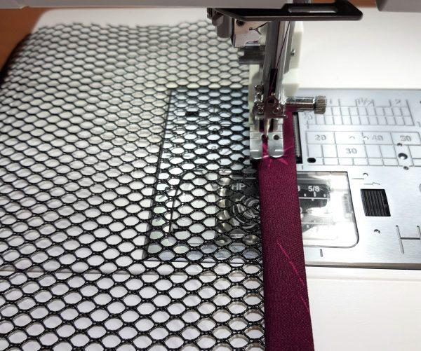 How to make a bound mesh pocket