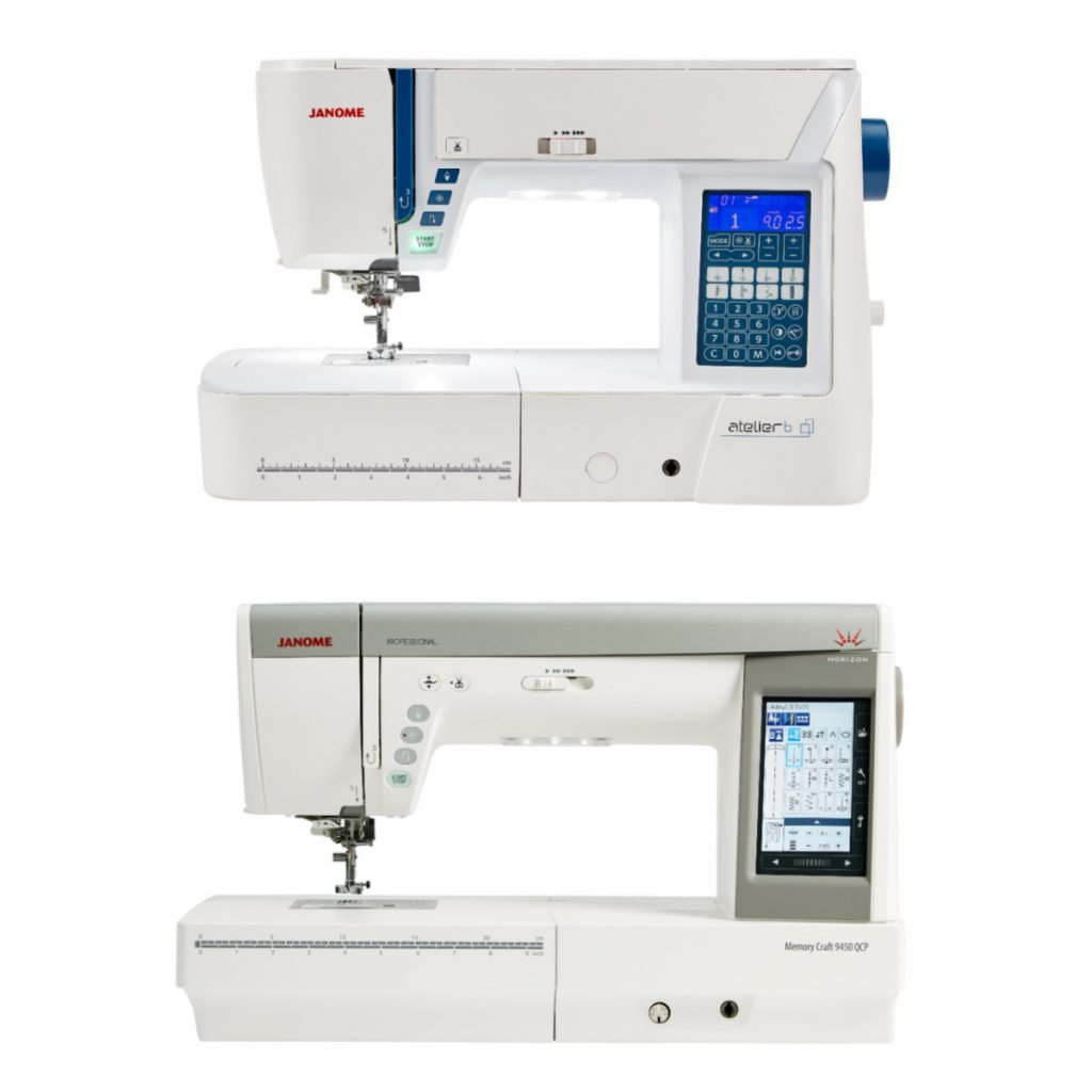 Our guide to Janome's sewing machine models