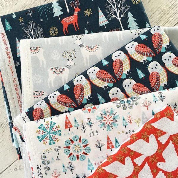Where to buy Christmas Fabrics in the UK