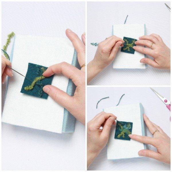 Beginner's needle felting project