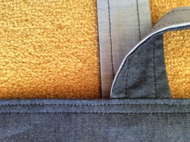 How to sew a bag from denim/jeans