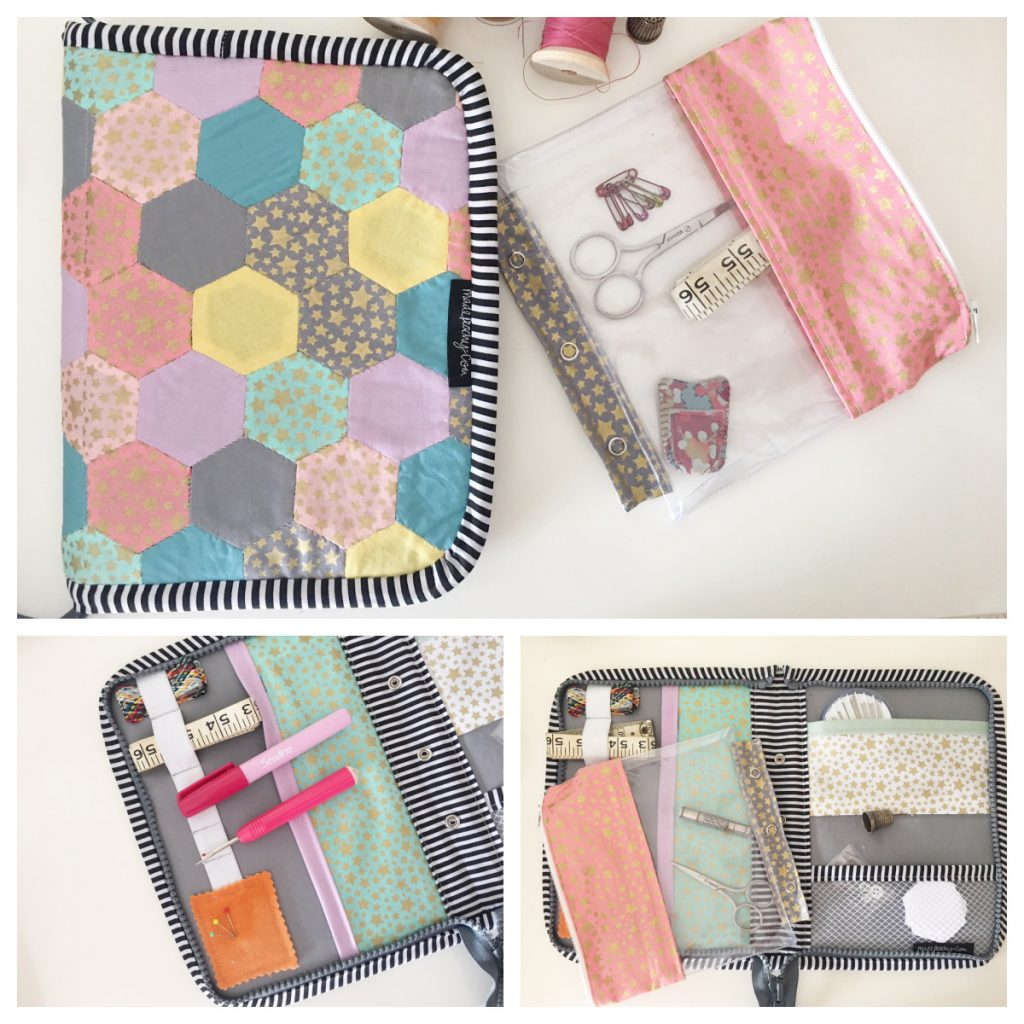 Sew an EPP travel case