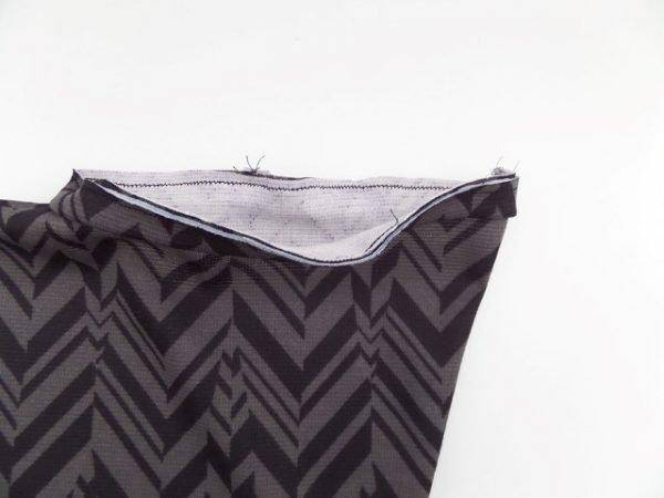 Free knit dressmaking project