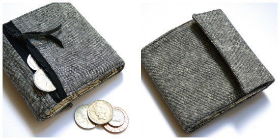Foldable coin purse project