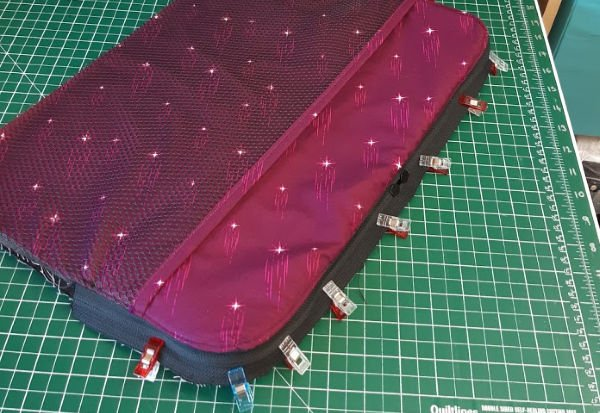 Quilted laptop sleeve project