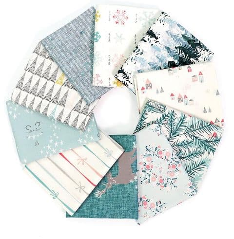 Bundles of fabric for quilting
