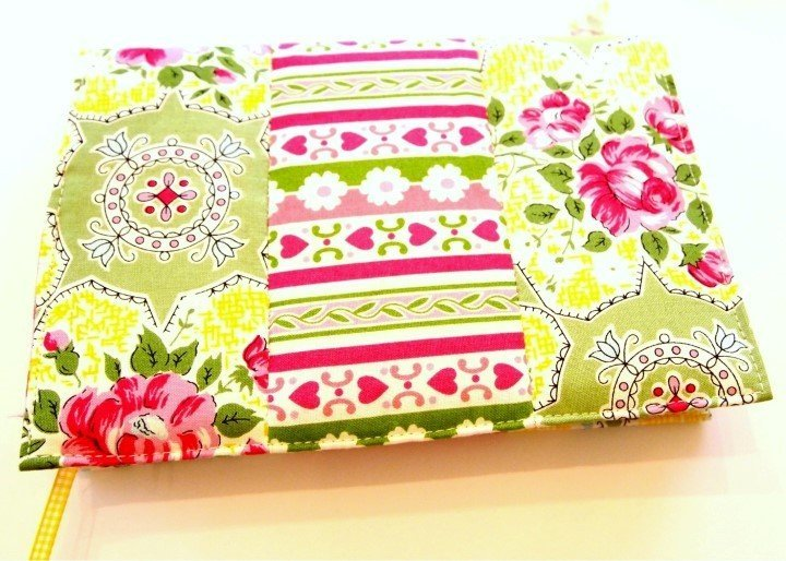 Notebook cover to sew