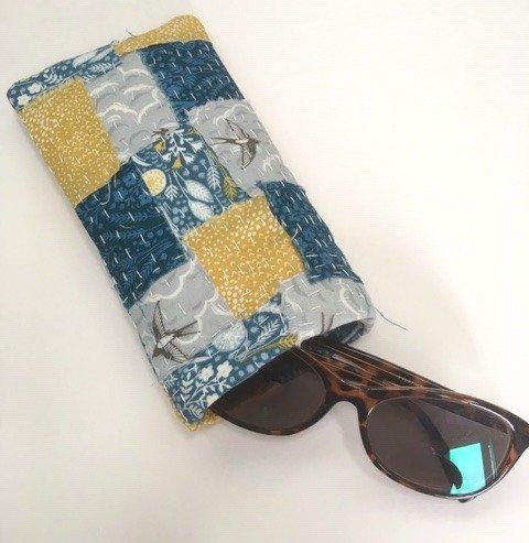 How do I make a case for my sunglasses?
