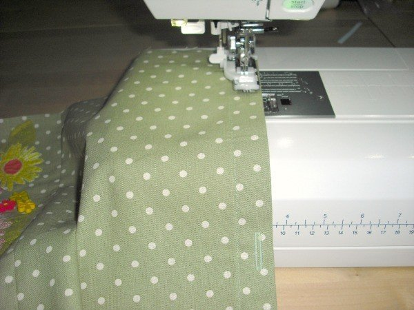 Sewing buttonholes